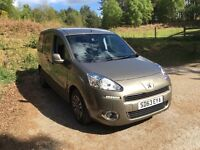 2013 Peugeot parter hdi diesel with wheelchair acces only 7k miles from new