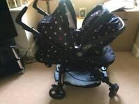 Mamas and papas pushchair bundle