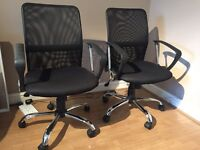 2 Office Chairs - Good Condition - 2 for £35 - £20 each