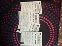 4 adult thorpe park tickets