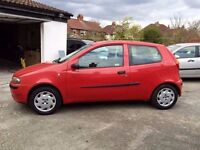 2002(52) FIAT PUNTO -3DOORS,MOT 28TH SEP.2016,ONE OWNER FROM NEW,72000 GENUINE MILES(,HPI CLEAR)