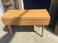 Large Formica Table -free local delivery - Drop Leaf feel free to view , good condition