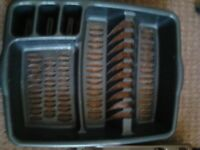 KITCHEN DRAINER AND CUTLERY TRAY