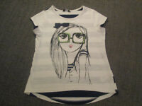 VARIOUS GIRLS TOPS - £1.50 - 2.00 PER ITEM - AGE 7-8 / 8-9 - VGC (NEXT/H&M, ETC)