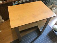 Small wood work desk