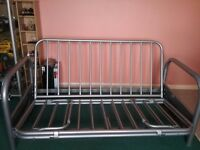 Metal Double Futon Sofa Bed