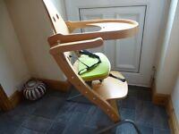very modern highchair