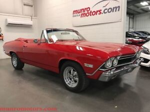 1968 Chevrolet Malibu Chevelle Convertible Restored Awesome
