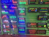 SALE *** ALL LED AND NEON SIGN AVAILABLE ***STARTING FROM £19.99