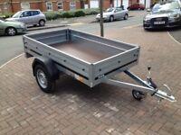 Brand new Brenderup 1205s car box trailer
