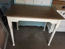 Table revamped shabby chic