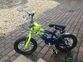 Kids 12 inch Raleigh football bike