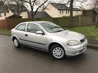 Vauxhall Astra 1.6 Envoy AUTOMATIC 2001 genuine mileage 75k FSH with mot