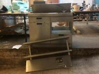 Stainless Steel sink and cupboard unit!