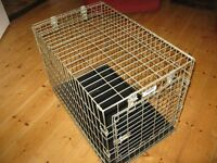 Dog cage length 71 cm width 45 cm ht 53cm