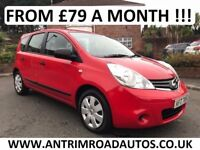 2010 NISSAN NOTE VISIA 1.5 DCI ** FULL SERVICE HISTORY ** FINANCE AVAILABLE
