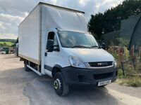 IVECO DAILY 70C18 BOX TRUCK WITH TAIL LIFT 2011 IDEAL HORSE BOX CONVERSION
