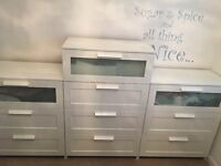 IKEA Chest of drawers X3 sold together or separately