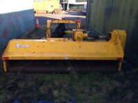 Twose Flail Mower, 8ft, works fine, new roller bearings, sliding ram
