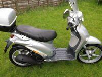 Piaggio liberty 125 cc low milege