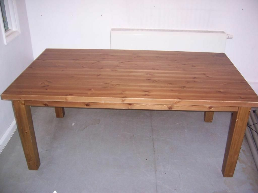 ikea forsby pine dining table seats 6 8 in cardiff gumtree. Black Bedroom Furniture Sets. Home Design Ideas