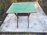 OLD CARD TABLE
