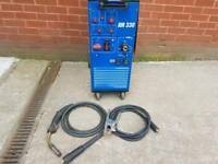 Newarc RM330 / 3 phase compact MIG welder / Ready to weld package