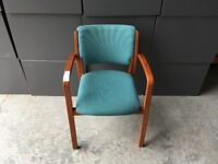 Verco Green Visitor Chair