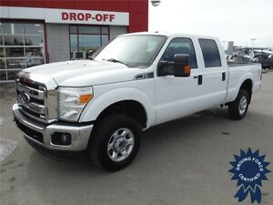 2015 Ford Super Duty F350 XLT - Crew - 4WD - Gas - Short Box
