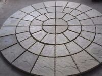 Four ring paving circle