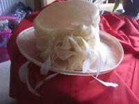 Hatmospere Collection Cream hat