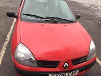 Renault Clio 2006. No mot open to offers 275 calls only thanks