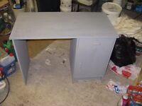Grey Office desk