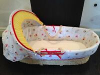 Mothercare little circus mosses basket