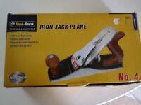 CAST IRON JACK PLANE NO.4 BRAND NEW IN BOX