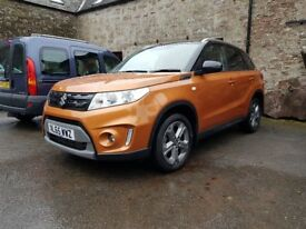 2015 Suzuki Vitara SZ-T 1.6 DDIS orange