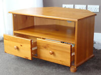 Good Condition TV Corner Table