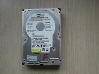 """WESTERN DIGITAL 160GB 3.5"""" HARD DRIVE FORMATTED FOR MAC AND WITH MAC OS X 10.7.5 LION INSTALLED"""