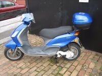 Piaggio Fly 50cc. 2007. Learner legal, commuter, winter hack