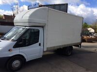 Transit Luton body with tail lift/roller shutter