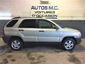 2007 Kia Sportage Luxury,4X4,full,cuir,toit(GARANTIE 1 AN INCLUS