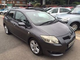 2007/57 TOYOTA AURIS 2.2D -4D T180 5 DOOR ,HIGH SPEC AND CONDITION, LOOKS AND DRIVES WELL