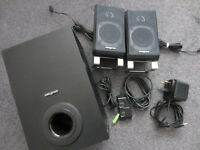 Creative Inspire T3000 2.1 Computer Speaker System for PC & MP3 (Black)