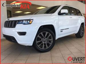 2017 Jeep Grand Cherokee Limited 75TH 4X4 GPS TOIT OUVRANT DEM.D