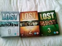 Lost complete series 1 2 and 3