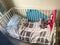 Ikea gulliver cot bed cotbed