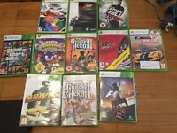 Xbox 360 120gb plus games & accessories
