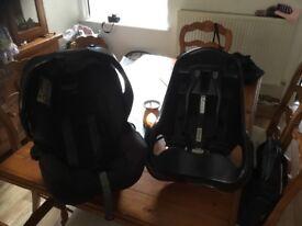 GRACO JUNIOR ISOFIX DETACHABLE BABY SEAT EXCELLENT CONDITION