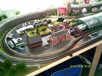 model train set collection