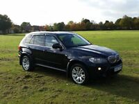 57 REG BMW X5 3.0D AUTO M-SPORT FSH PAN-ROOF TOP SPEC OUTSTANDING DONT MISS OUT BARGAIN CARS